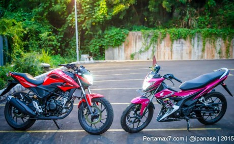 all new honda CB150R dan New Honda Sonic 150R pertamax7.com
