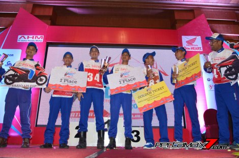 Para juara di Astra Honda Safety Riding Instructors Competition 2016 pertamax7.com