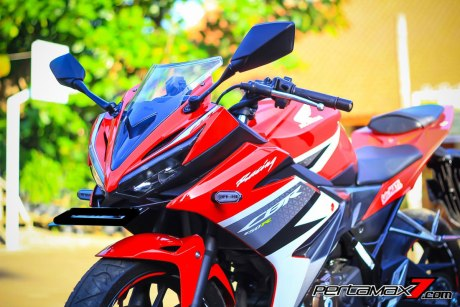 All New Honda CBR150R 2016 Warna Merah Racing Red 18 Pertamax7.com