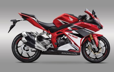 All new Honda CBR250RR twin cylinder 2016 warna merah Racing Red pertamax7.com