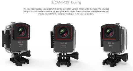 SJCAM M20 housing ActionCam pertamax7.com