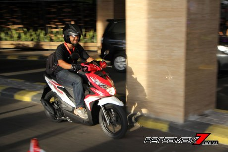 Review All New Honda Beat eSP 2016 Merah Putih Pertamax7.com