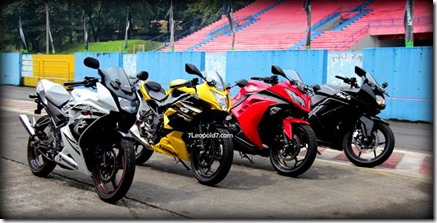 ninja 150rr vs ninja 250 RR MONO vs ninja 250FI vs Ninja 250R