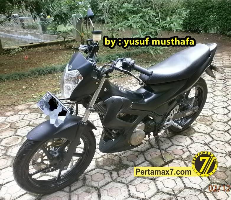 Pertamax7Com Suzuki Satria FU Berkaki Yamaha Byson