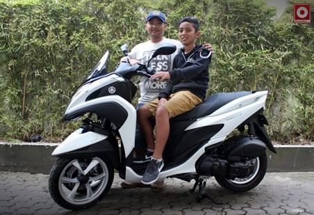 yamaha tricity Indonesia