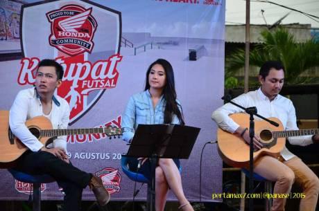 Meriahnya Komunitas Honda Yogyakarta Beradu Futsal sambil Nonton New Sonic 150R 03 Pertamax7.com