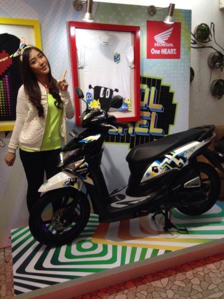 Honda beat Pop JKT 48