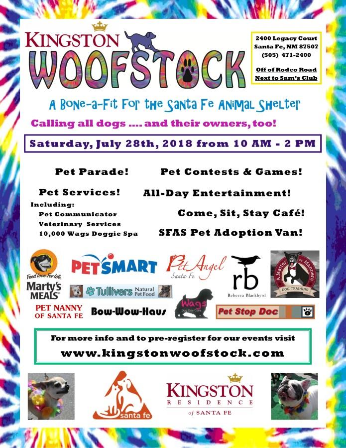 Kingston residence Santa Fe hosts Woofstock 2018