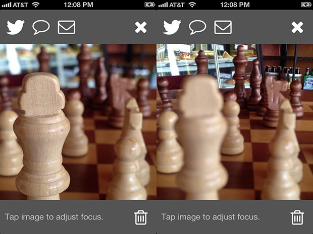 FocusTwist Launches Refocusable Photo App for the iPhone and iPad viewer1