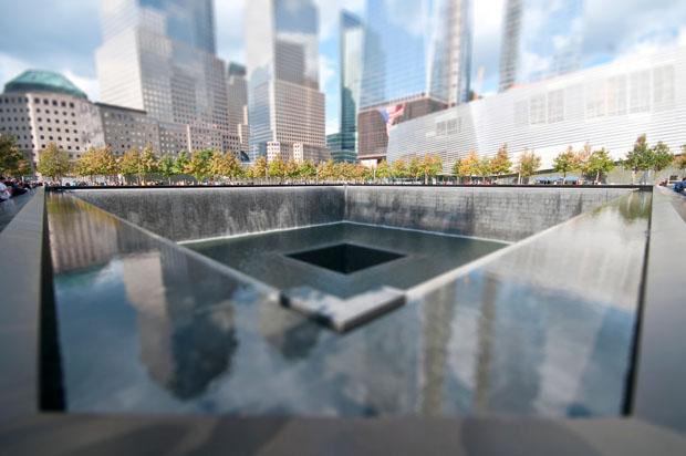The World Trade Center Memorial by Richard Silver