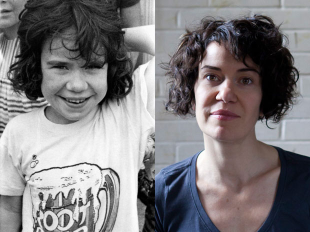 Before and After Portraits of Alternative Education Students Decades Later Alpha Lucy Diptych copy