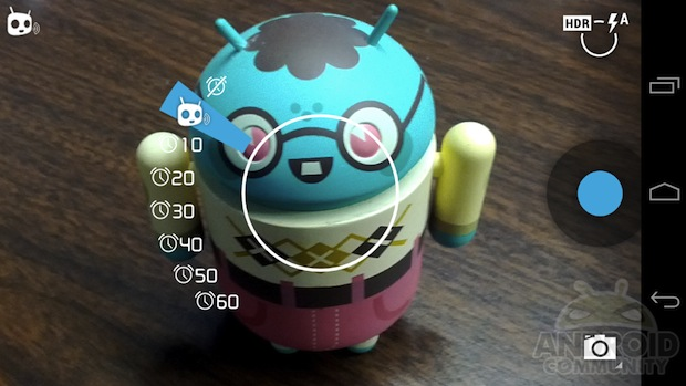Voice Shutter Now Available for Android Phones Running CyanogenMod cyanogenmodvoice1