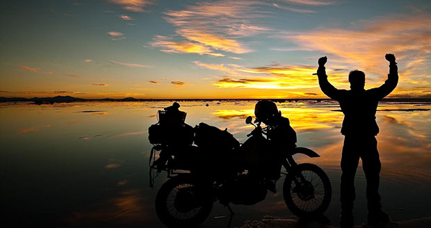 Modern Motorcycle Diaries: Man Captures His 500 Day Trip Across the Americas motorcycle