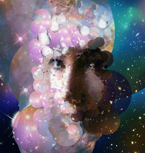 Portraits Created from Pictures of Space Taken by the Hubble Telescope 9319547183 182486bb55 z