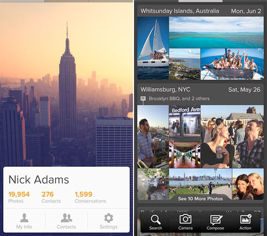 Viewfinder App Helps You Organize, Find, and Share Photos on Your iPhone Viewfinder iOS App 1