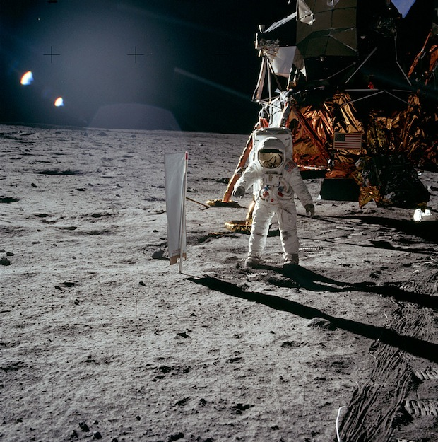 Incredible Online Gallery of High Res Film Scans from Every Apollo Mission apollo11 1