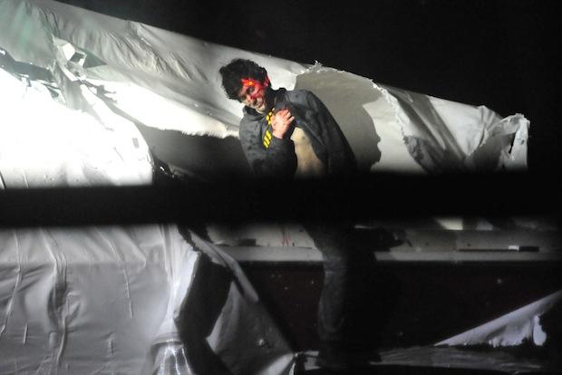 Officer Releases Jarring Tsarnaev Arrest Photos to Protest Rolling Stone Cover bomber2