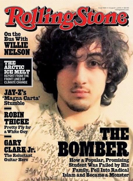 Officer Releases Jarring Tsarnaev Arrest Photos to Protest Rolling Stone Cover rollingstoneboston1