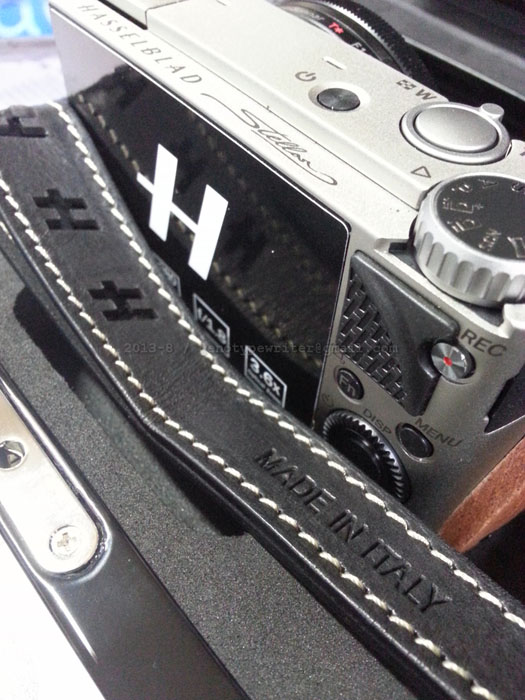 A Review of the Hasselblad Stellar Hasselblad Stellar strap italy