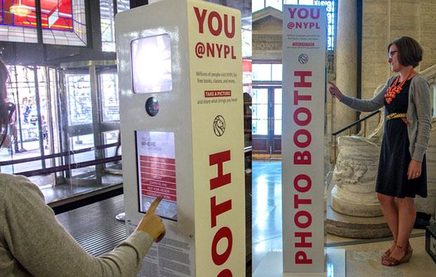NY Public Library Installs Photobooths to Let Visitors Share the Joy of Reading PHOTOBOOTHnypl
