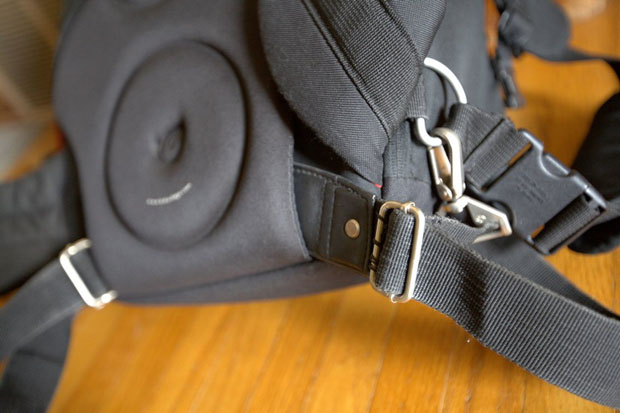 Transport a Tripod by Adding a Strap to the Bottom of a Camera Backpack kAgesmNh