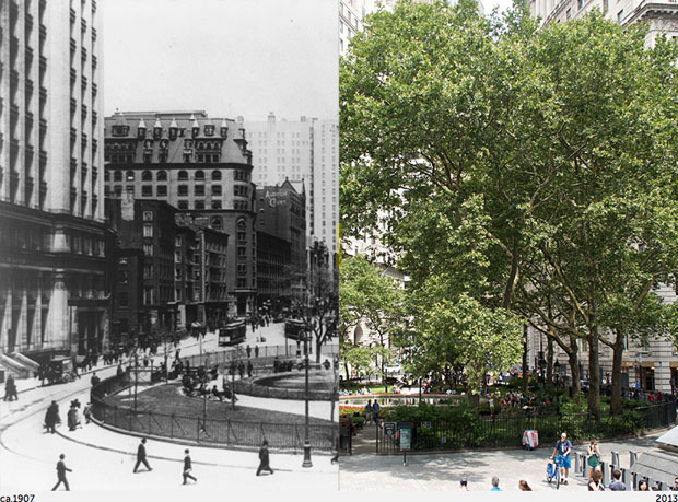 Then and Now Photos of New York City  nycbeforeafter 3