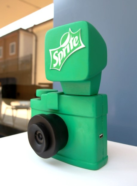 Sprites Raspberry Pi Camera: Marketing Stunt Meets DIY Photography spritecam1