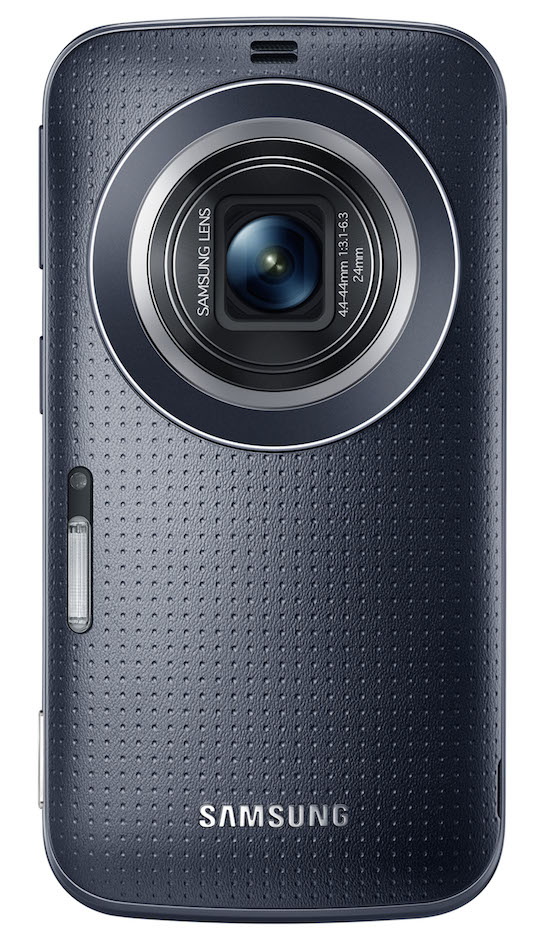 Galaxy K zoom Charcoal Black 02 Lens open Samsung Unveils the New Galaxy K Zoom: A Camera Phone Worthy of the Name