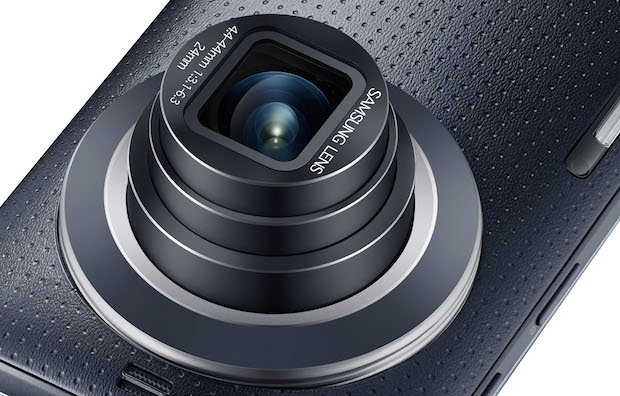 Galaxy K zoom Charcoal Black 10 Samsung Unveils the New Galaxy K Zoom: A Camera Phone Worthy of the Name