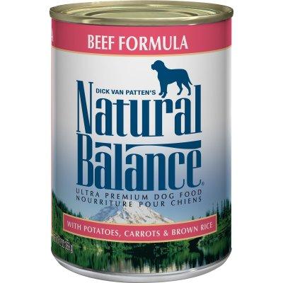 Natural Balance Ultra Premium Beef Formula Wet Dog Food | Petco