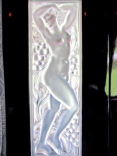 Lalique Art Deco glasswork on the Orient Express