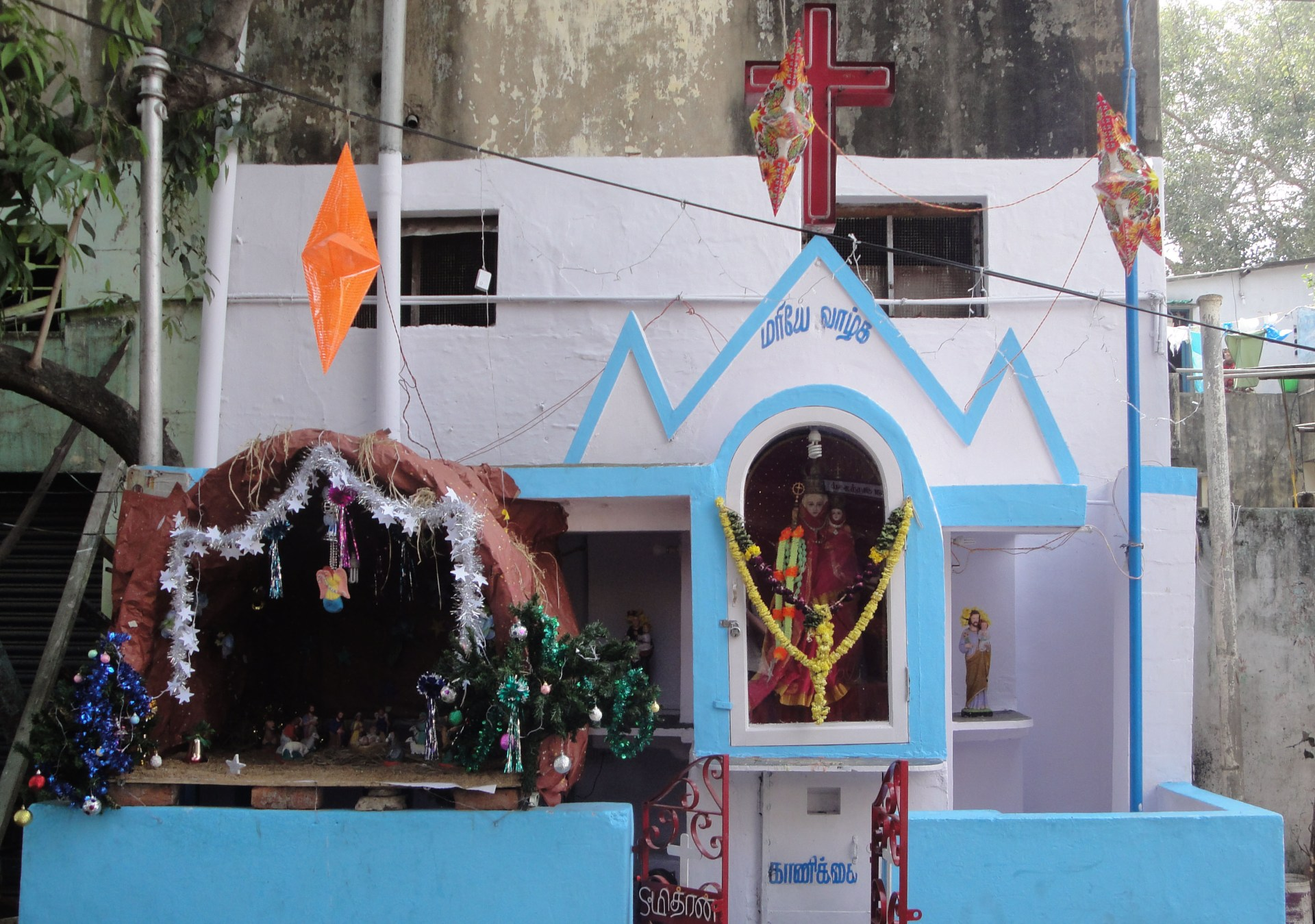 Where does one go for Christmas in India?