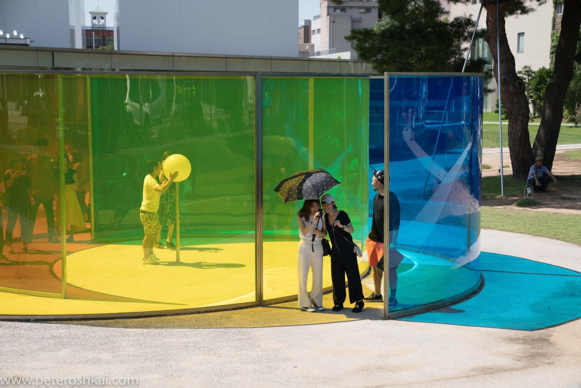 Museum of contemporary art. Kanazawa. Japan.