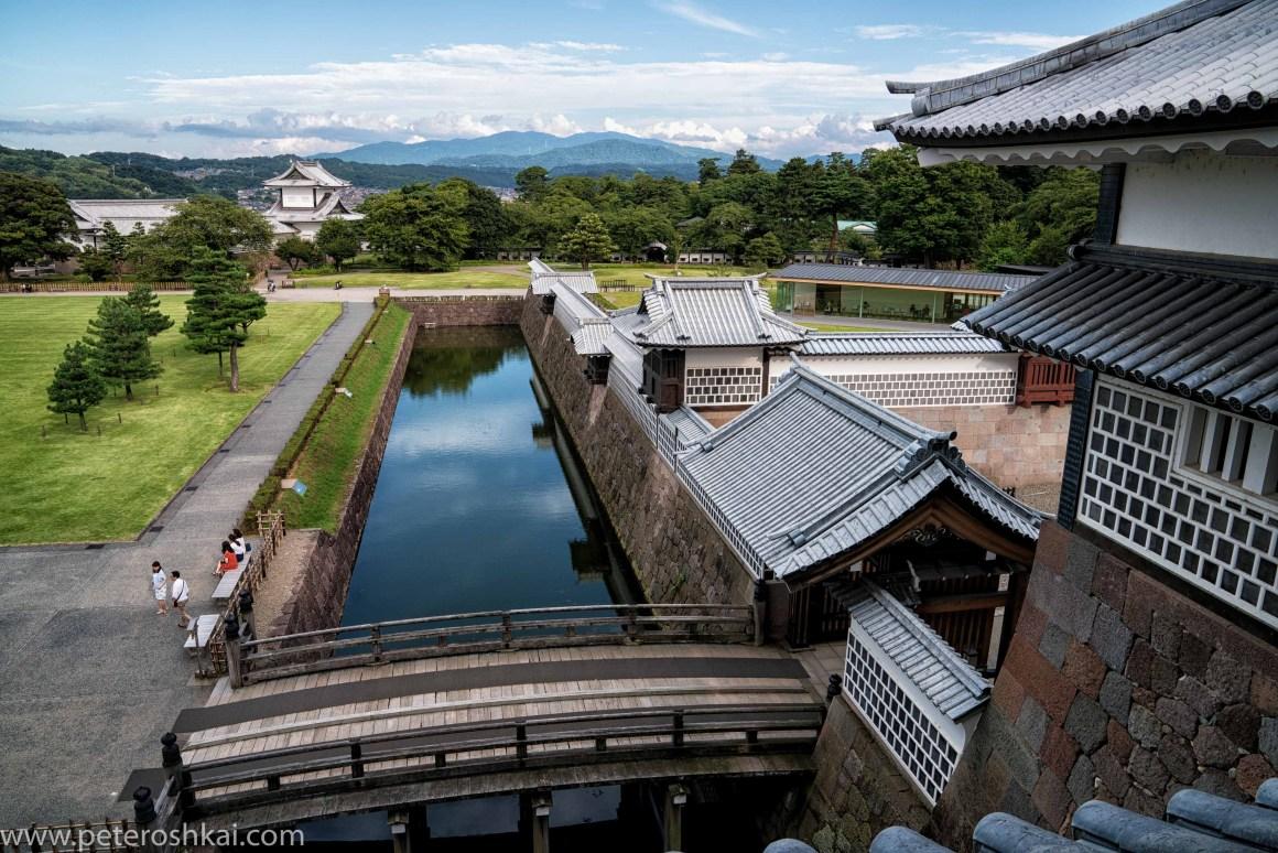 Kanazawa Castle. Japan.