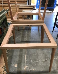 table frame