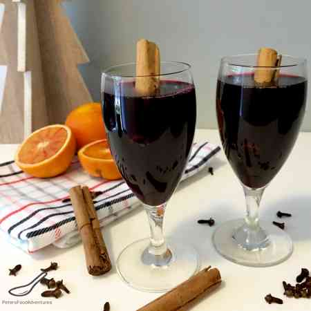 A Swiss/German Hot Mulled Wine that is enjoyed during the holidays, or when it's cold outside.. It tastes like Christmas in a cup. Glühwein Mulled Wine (Глинтвейн)