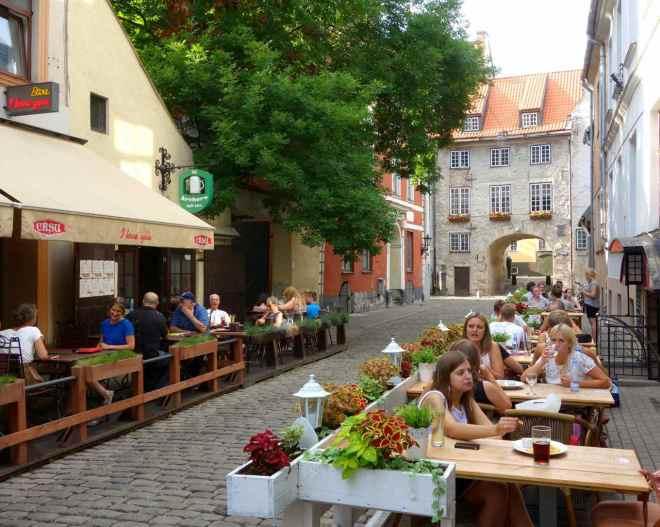 Lettland, Riga, Altstadt