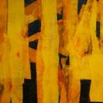 jetty series 6 No 10 mixed media on canvas - 30x40cm