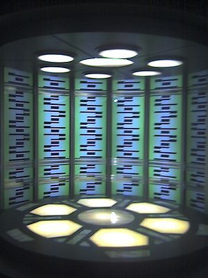 star trek transporter device Transporter Room ...