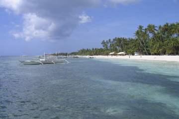 Alona Beach. Panglao, Bohol, Philippines.