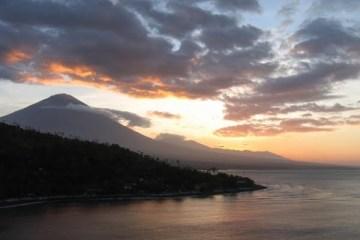 Gunung Agung. Bali.