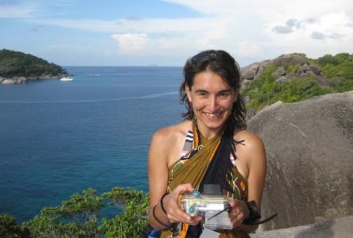 Sur l'île Similan #8. Je suis trop contente: mon appareil marche... pour quelques minutes, encore.