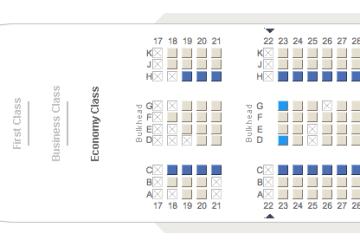 Sur le site d'Emirates, on peut choisir sa place dans l'avion.