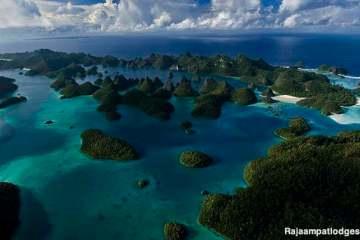 Wayag. Raja Ampat, Papouasie occidentale, Indonésie.