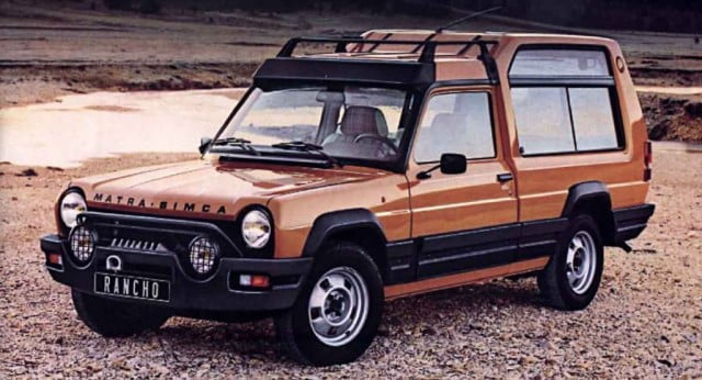 Whatever happened to the Talbot Matra Rancho
