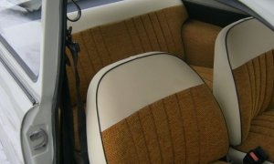 Right-hand drive Trabant 601 front seat