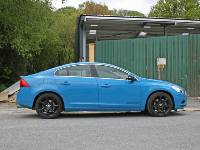 Rebel Blue Volvo S60 T6 Polestar