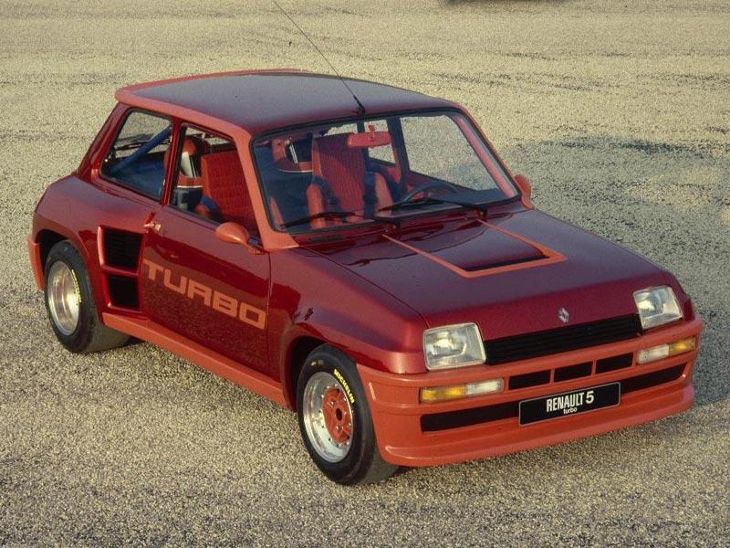 Rear-wheel drive Renaults - 5 Turbo