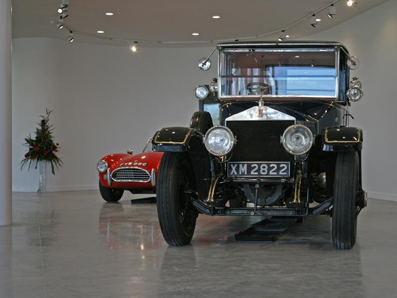 Entrance Foyer at Haynes International Motor Museum