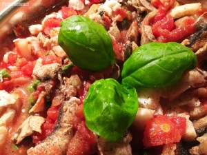 Dietetyczna ryba w pomidorach